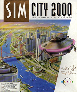 Simcity Box Cover